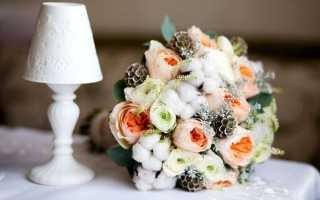 Создаем свадебный букет из искусственных цветов