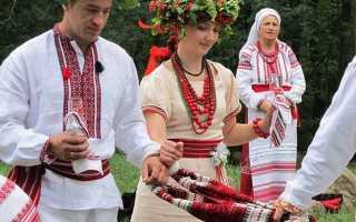 Свадебные платья в украинском стиле: варианты вышитых современных платьев украинских невест
