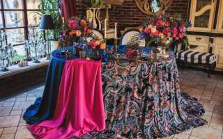 Свадьба в восточном стиле: организация, декор и наряды
