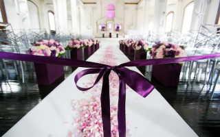 Свадьба в фиолетовом цвете – поклонникам тайн и мистики