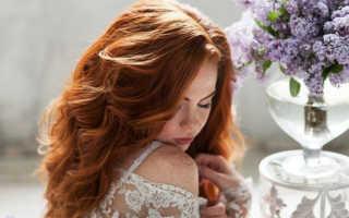 Рыжеволосая невеста: свадебные образы, цвета в макияже и нарядах