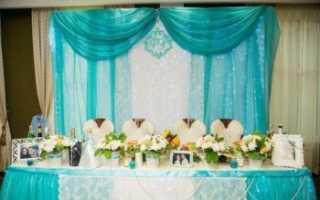 Роскошная свадьба в бирюзовом цвете, идеи оформления и декора