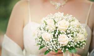 Гиацинты, гипсофилы и крокусы или необычный свадебный букет