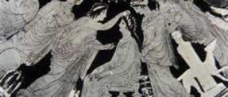 Величественность и благородство античности в греческих прическах на свадьбу