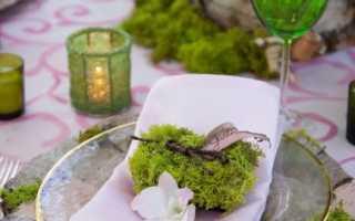 Свадьба в стиле эко-шик – будь в гармонии с природой!