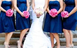 Океан, небо и сапфиры свадебного торта в синем цвете
