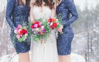 В чем пойти на свадьбу зимой – идеи и фото лучших нарядов