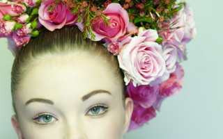 Красота и изысканность свадебных причесок