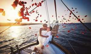 Свадьба на яхте: советы по организации и фотосессия