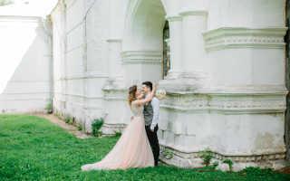 Как выбрать места для свадебной фотосессии