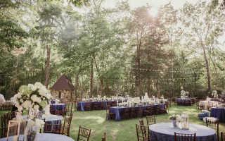 Идеи проведения свадьбы на природе: выбираем подходящий вариант