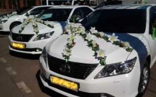 Кольца на свадьбу на машину и другие украшения свадебного кортежа